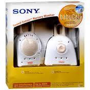 Sony Ntm 910 900 Mhz Babycall Sound Sensor Nursery Monitor