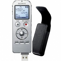 Sony ICD-UX533-Silver-Case 4GB Expandable Digital Flash ...