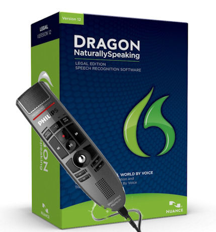 Dragon NaturallySpeaking Speech Recognition for PCs