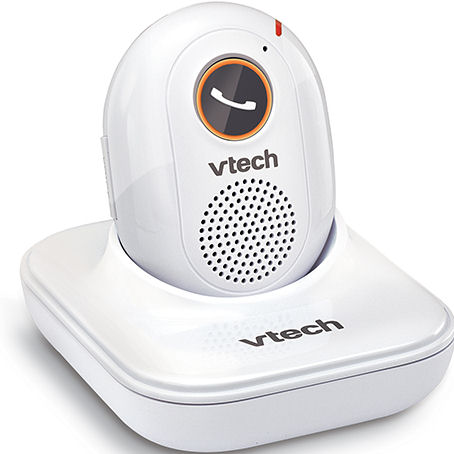 how to connect vtech phone to base