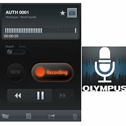 Olympus 147429-a Smartphone App License Key for Olympus Dictation Delivery  Service - Android License