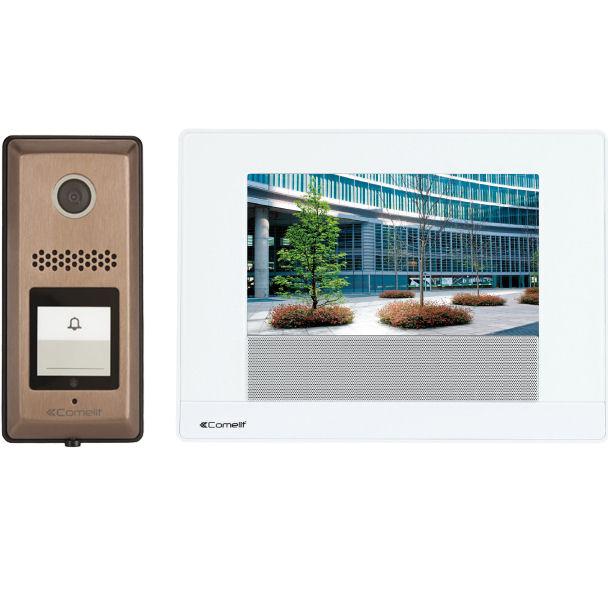 comelit hfx 900rs 7 touch screen video intercom kit. Black Bedroom Furniture Sets. Home Design Ideas