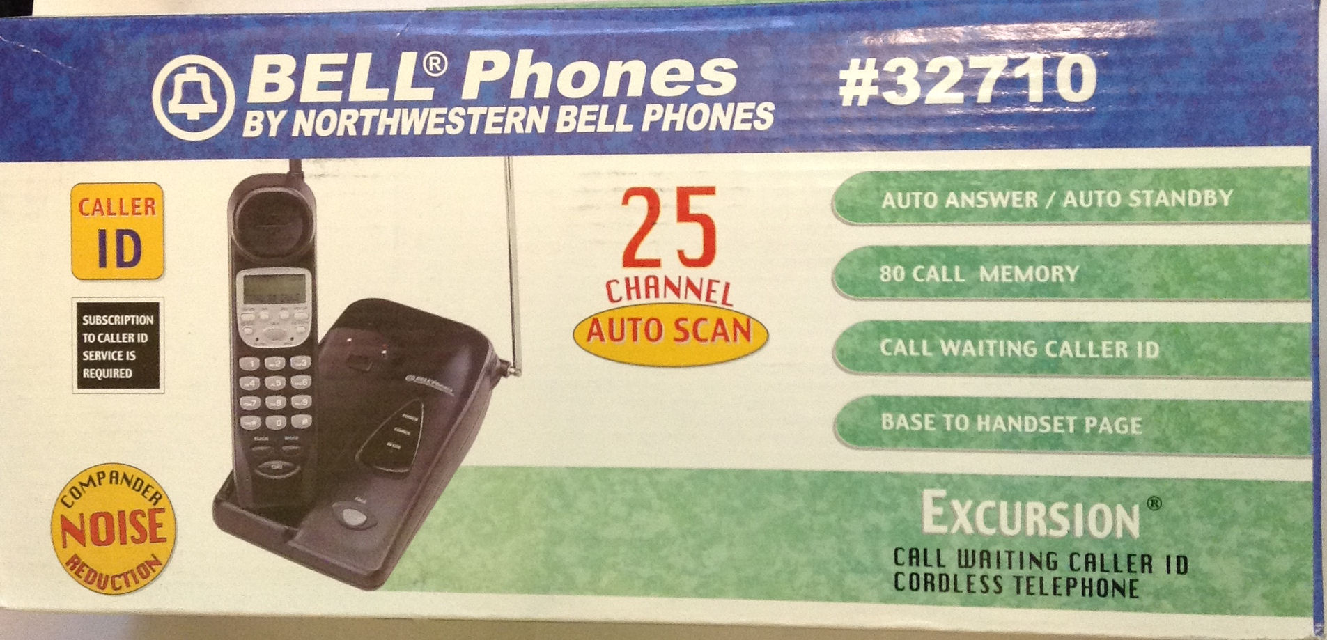 Northwestern Bell 32710 Call Waiting Caller ID Cordless Telephone
