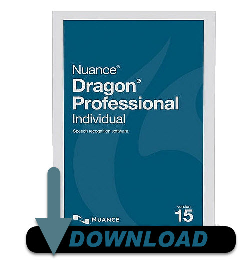 Nuance K809A-G00-15 0 Dragon Professional Individual Version 15 Speech  Recognition Software