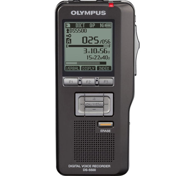 Olympus DS-5500IT Professional Digital Voice Recorder - No software